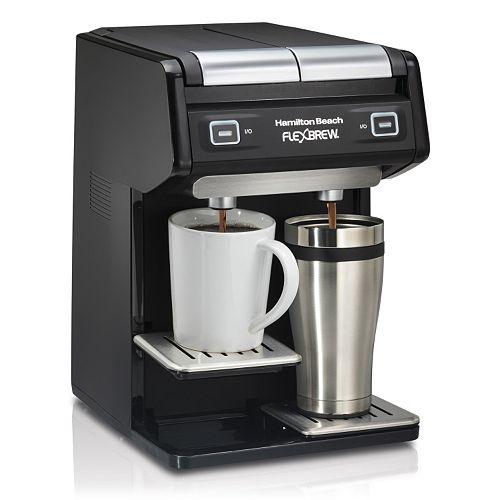 Hamilton Beach Flexbrew Dual Single Serve Coffee Maker