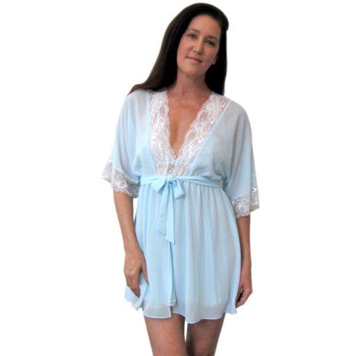 Women's Lunaire Danielle Chiffon Wrap Robe