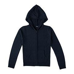 Girls 4-16 Chaps School Uniform Hooded Sweater