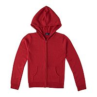 Girls 4-16 Chaps School Uniform Hooded Sweater