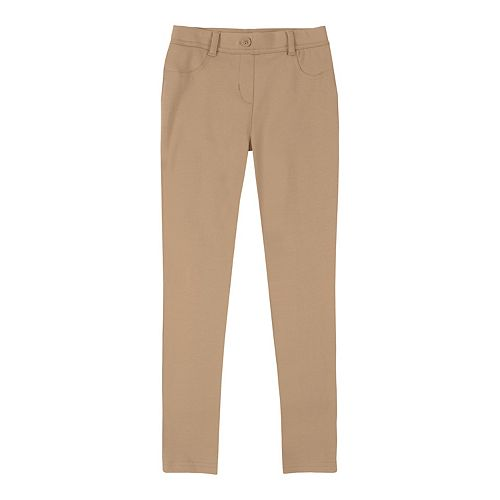 Girls 4-16 Chaps School Uniform Jeggings