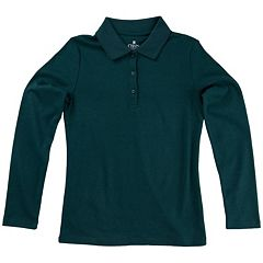 Girls 4-16 Chaps School Uniform Polo Shirt