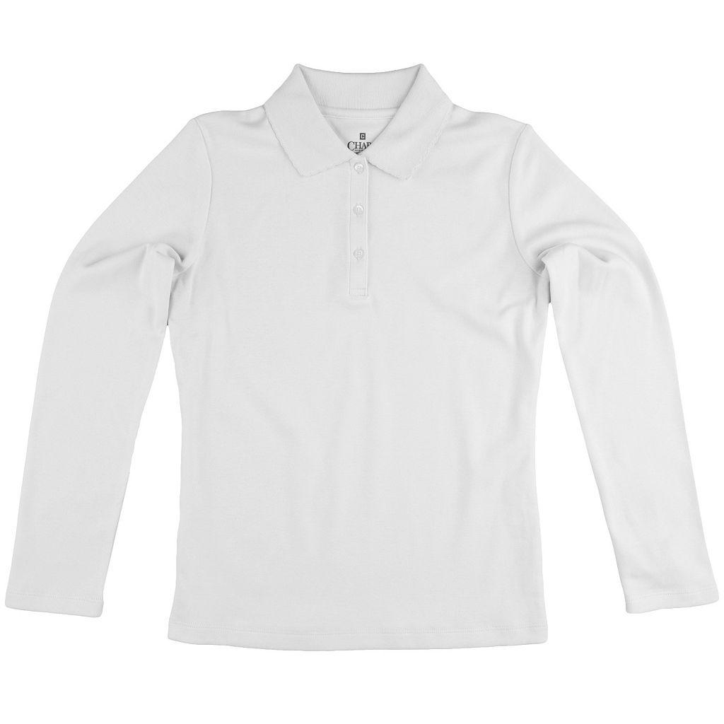 Girls 4-16 Chaps School Uniform Polo Shirt