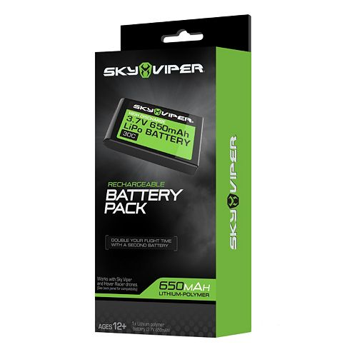 Sky Viper Rechargeable Battery Pack by Skyrocket