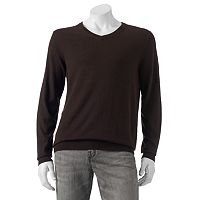 Big & Tall Croft & Barrow® Classic-Fit 12gg V-Neck Sweater