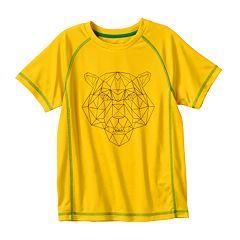 Boys 4-7 PUMA Geometric Logo Tee