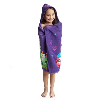 Shopkins Hooded Towel