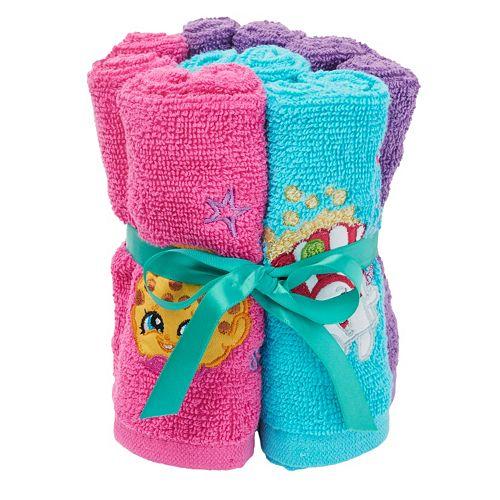 Shopkins 6-pack Washcloths
