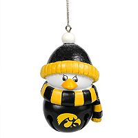 Forever Collectibles Iowa Hawkeyes Penguin Bell Christmas Ornament