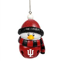 Forever Collectibles Indiana Hoosiers Penguin Bell Christmas Ornament