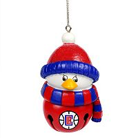 Forever Collectibles Los Angeles Clippers Penguin Bell Christmas Ornament