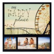 "New View ""My Happy Place"" Ferris Wheel 3-opening Collage Frame"