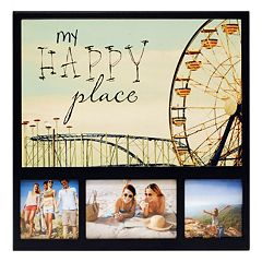 New View 'My Happy Place' Ferris Wheel 3-opening Collage Frame