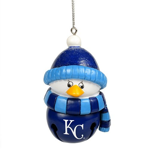 - Forever Collectibles Kansas City Royals Penguin Bell Christmas Ornament