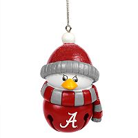 Forever Collectibles Alabama Crimson Tide Penguin Bell Christmas Ornament
