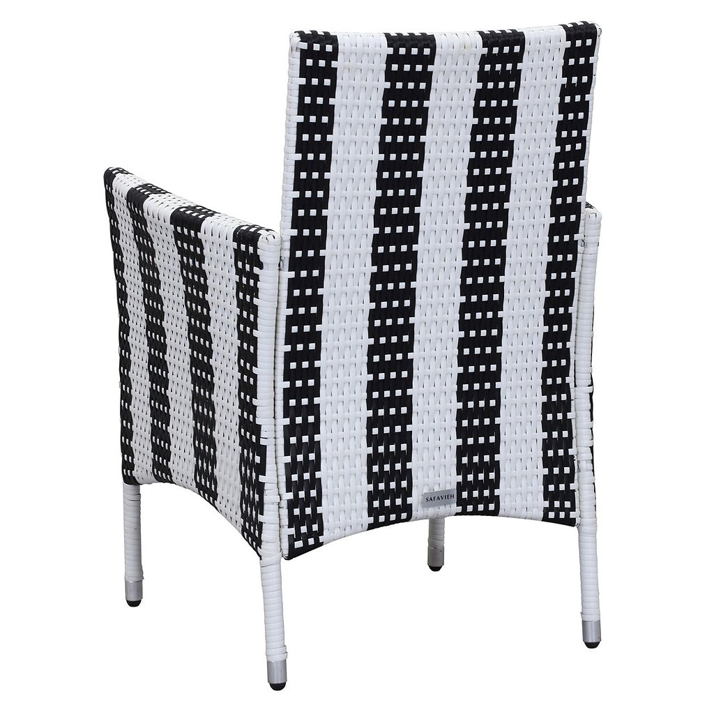 Safavieh Cooley Striped Outdoor Table 5-piece Set