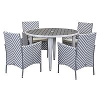 Safavieh Cooley Chevron Outdoor Table 5 pc Set
