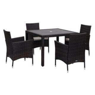 Safavieh Frazier Outdoor Table 5-piece Set