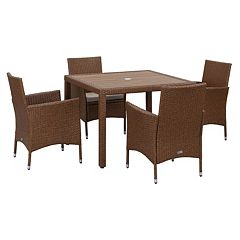 Safavieh Frazier Outdoor Table 5 pc Set