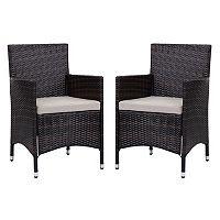 Safavieh Kendrick Outdoor Chair 2 pc Set