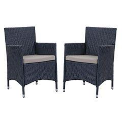 Safavieh Kendrick Outdoor Chair 2-piece Set