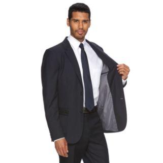 Men's WD.NY Slim-Fit Navy Pinstripe Suit Jacket
