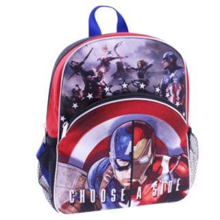 "Kids Marvel Captain America: Civil War Iron Man ""Choose A Side"" Backpack"
