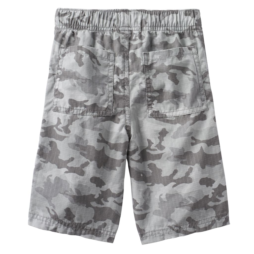 Boys 4-7x SONOMA Goods for Life™ Camouflage Ripstop Shorts