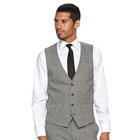 Men's WD.NY Slim-Fit Tweed Suit Vest