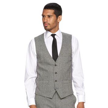 Men's WD.NY Slim-Fit Tweed Suit Vest