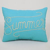 Essentials ''Summer'' Throw Pillow