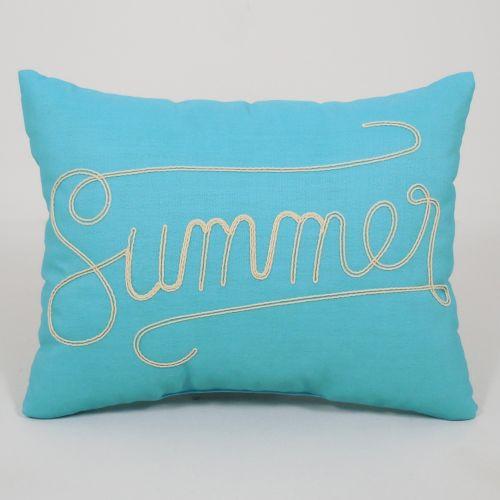 """Essentials """"Summer"""" Throw Pillow"""