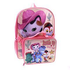 Disney's Sheriff Callie's Wild West Kids Backpack & Lunch Bag Set