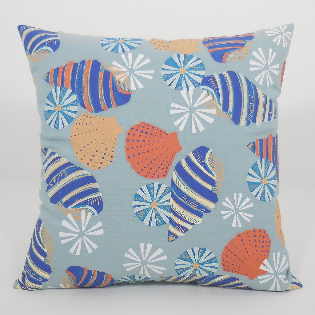Essentials Seashells Throw Pillow