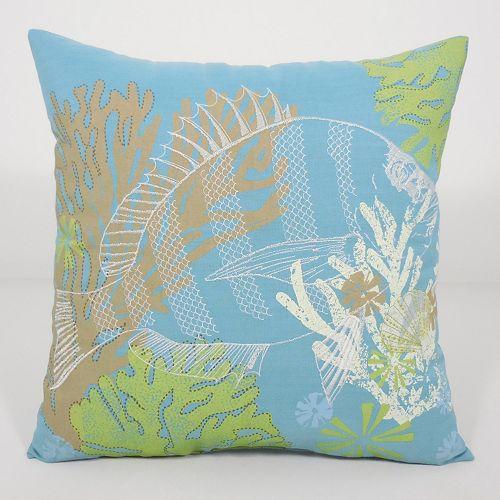 Essentials Fish Throw Pillow