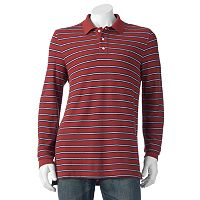 Men's Croft & Barrow® Classic-Fit Yarn-Dyed Striped Polo