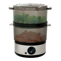 Chef Buddy 2-Tier Food Steamer