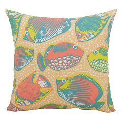 Essentials Key Pez Throw Pillow