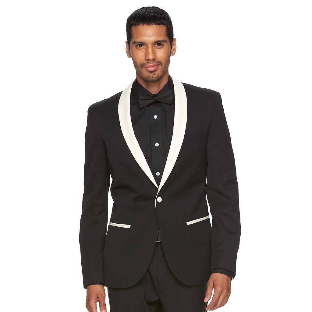 Men's WD.NY Slim-Fit Shawl-Collar Tuxedo Jacket