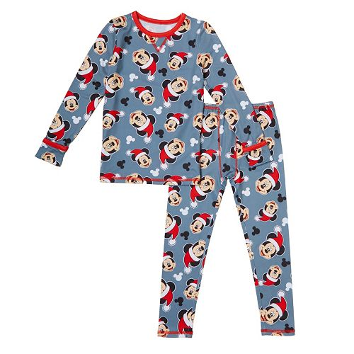 719997f7e2bdd Disney's Mickey Mouse Toddler Boy Top & Leggings Set by Cuddl Duds