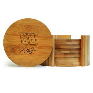Dale Earnhardt Jr. 6-Piece Bamboo Coaster Set