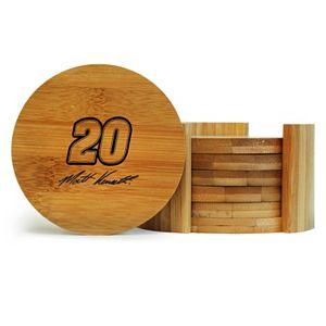 Matt Kenseth 6-Piece Bamboo Coaster Set