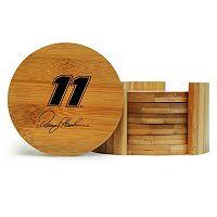 Denny Hamlin 6-Piece Bamboo Coaster Set
