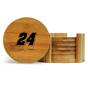 Jeff Gordon 6-Piece Bamboo Coaster Set