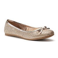 SO® Spicee Girls' Ballet Flats