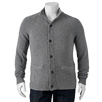 Big & Tall SONOMA Goods for Life™ Classic-Fit Wool-Blend 5GG Mockneck Sweater