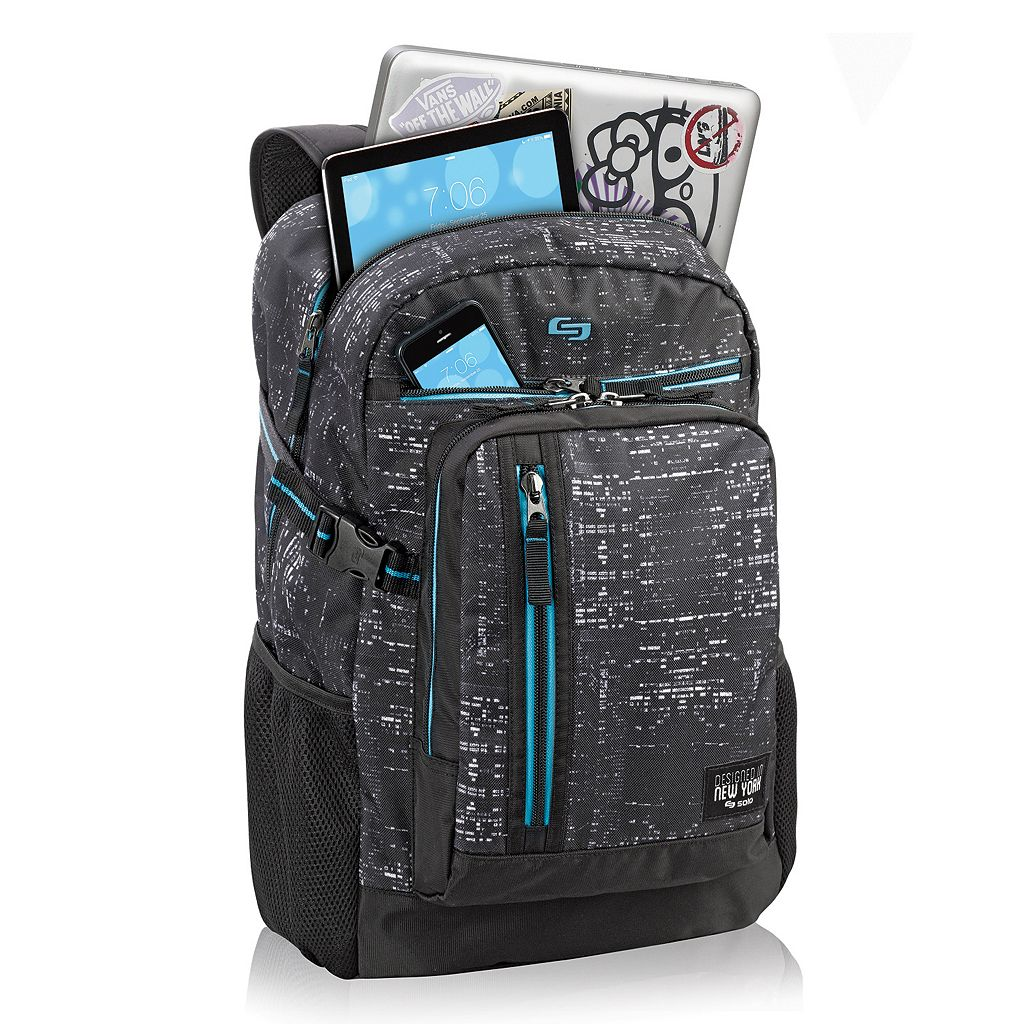 Solo Midnight Laptop Backpack