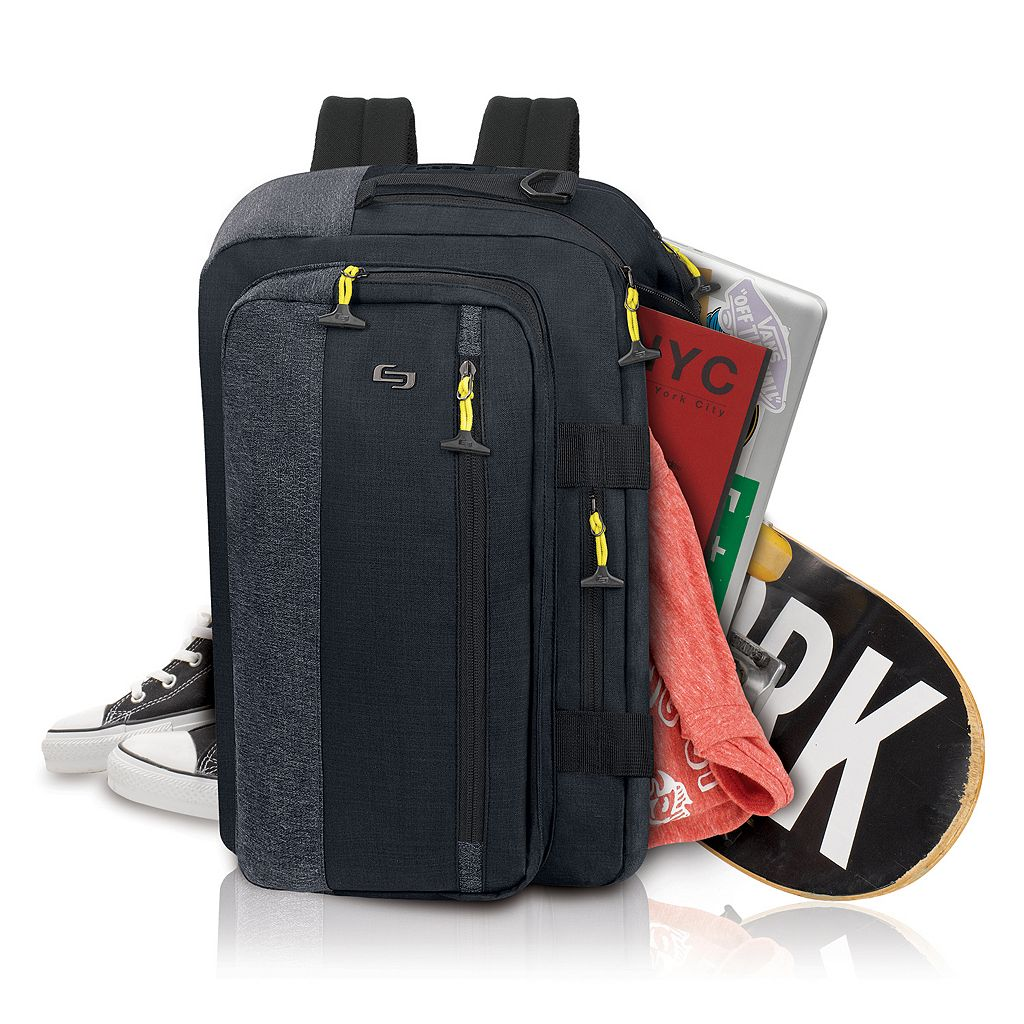 Solo Velocity Hybrid Laptop Backpack