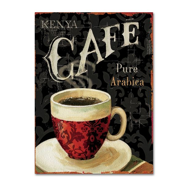 Trademark Fine Art Today S Coffee I Canvas Wall Art