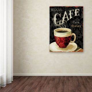 Trademark Fine Art Today's Coffee I Canvas Wall Art